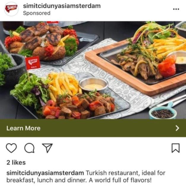 restaurant ads