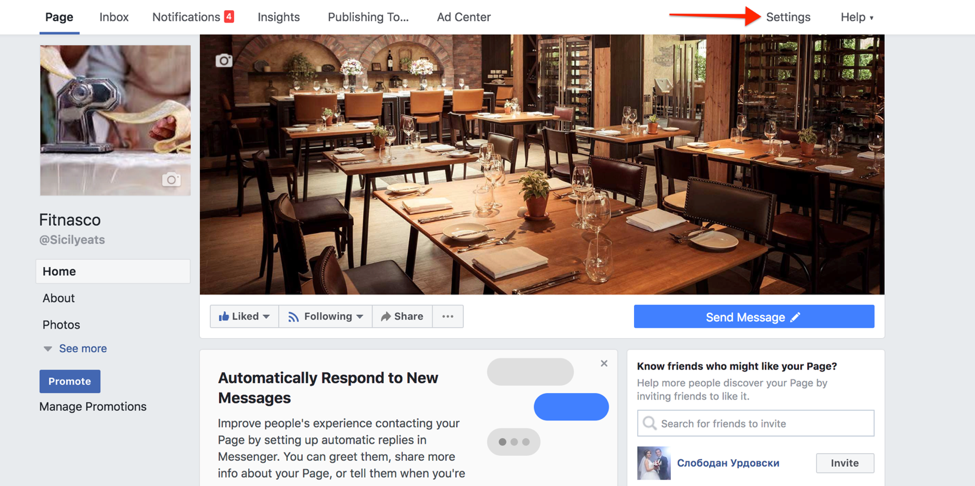 instagram ads restaurant