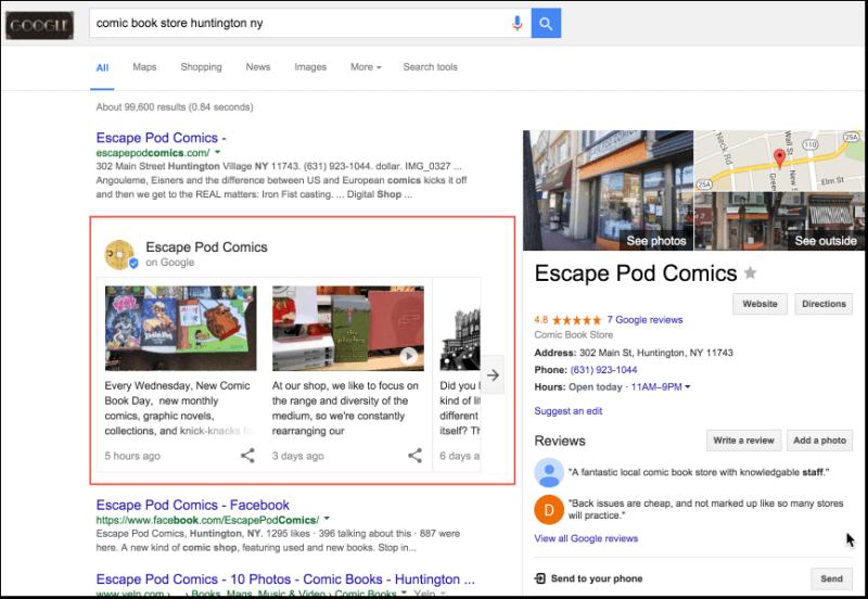 google restaurant marketing ideas
