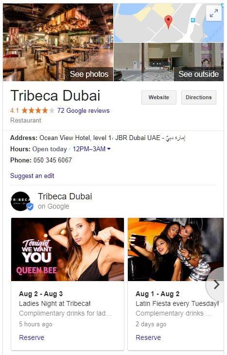 Tribeca Dubai