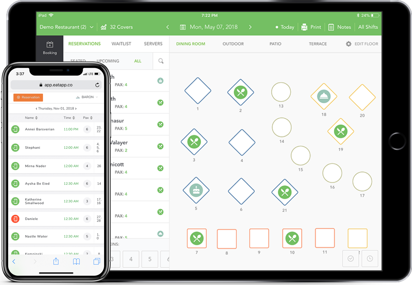 Floor Plan Control from Anywhere