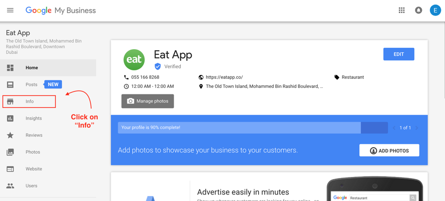 How to set up google reservations