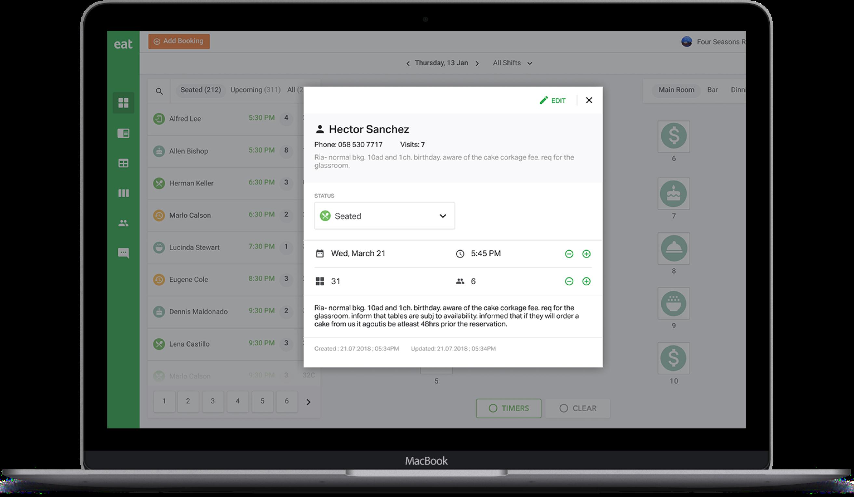 Restaurant Reservation Software for Restaurants