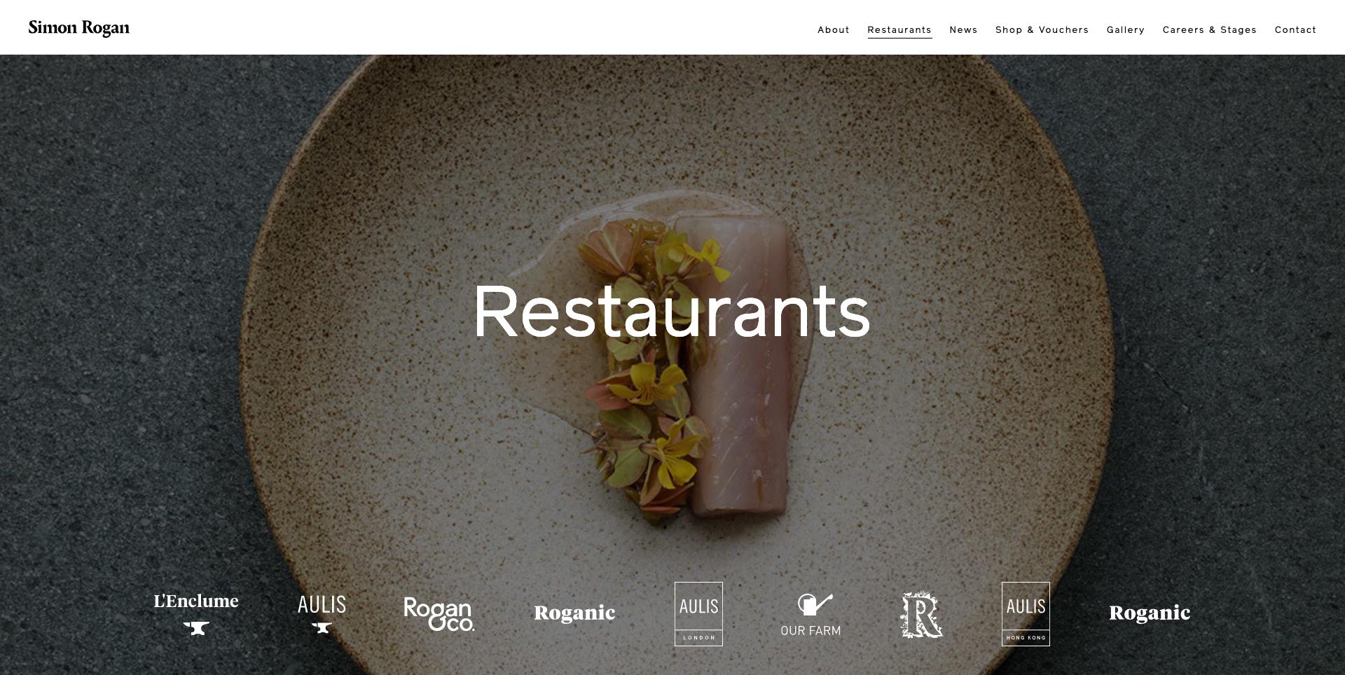 Simon Rogan Restaurant UK