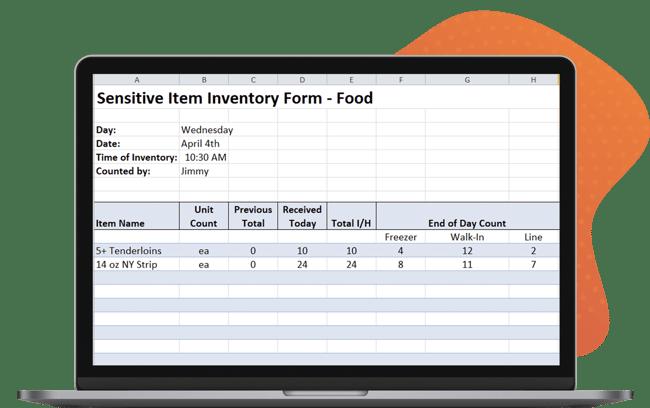 Sensitive Inventory Management