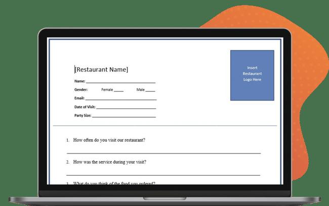 Survey Template macbook