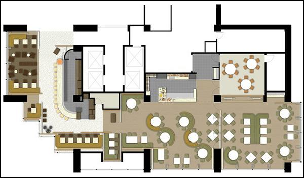 restaurant floor plan