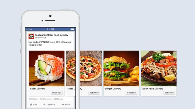 Facebook Ads Eat