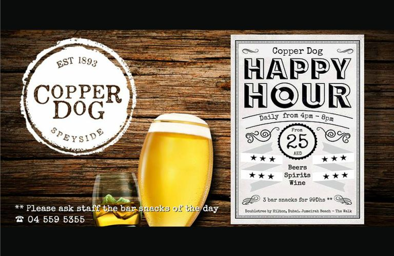 Copper Dog Restaurant Happy Hour
