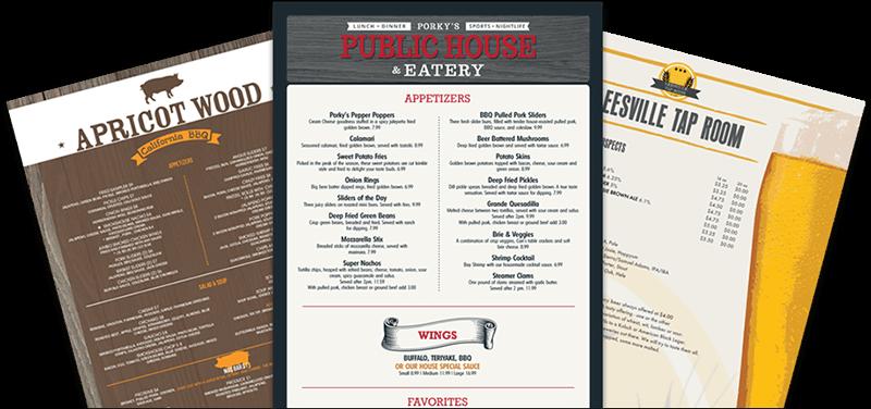 7 best sources for food menu templates
