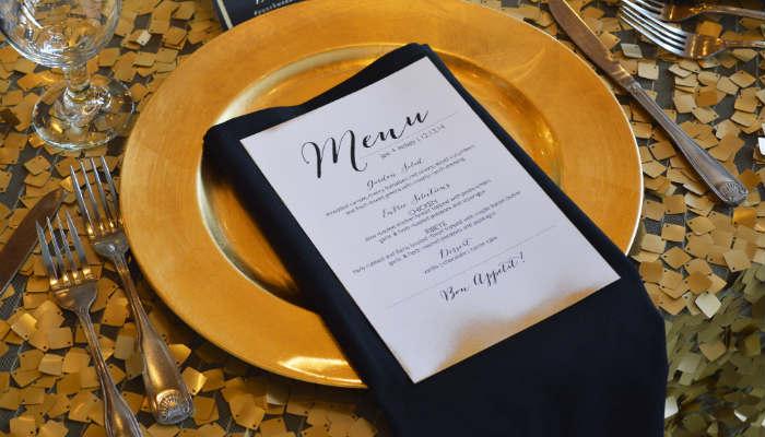 Importance of a restaurant menu