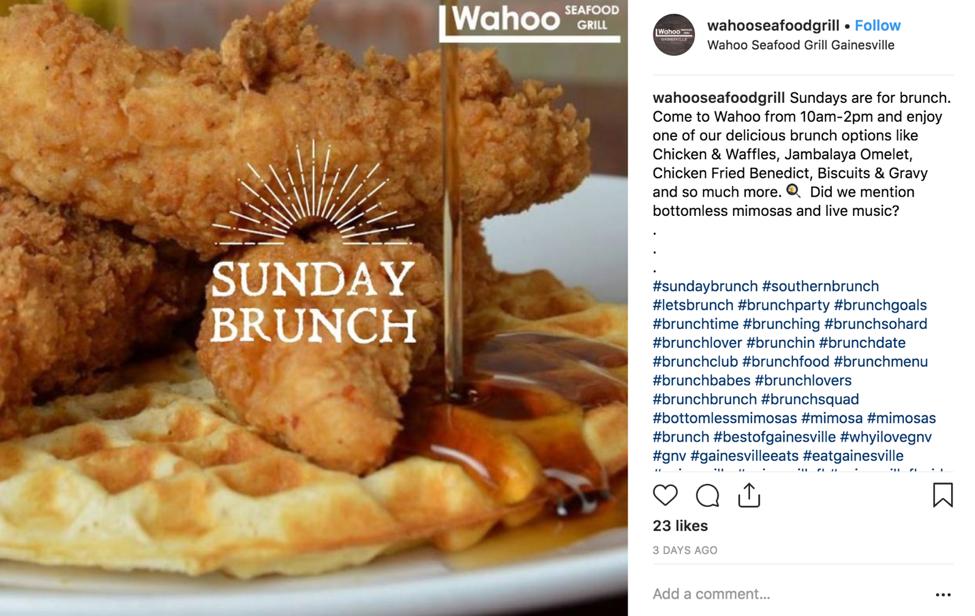 Marketing on Instagram for Restaurants