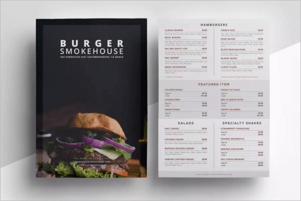 menu prices