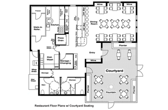 Trial Floor Plans to get a Diner Format