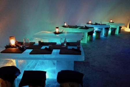 ice restaurant concept