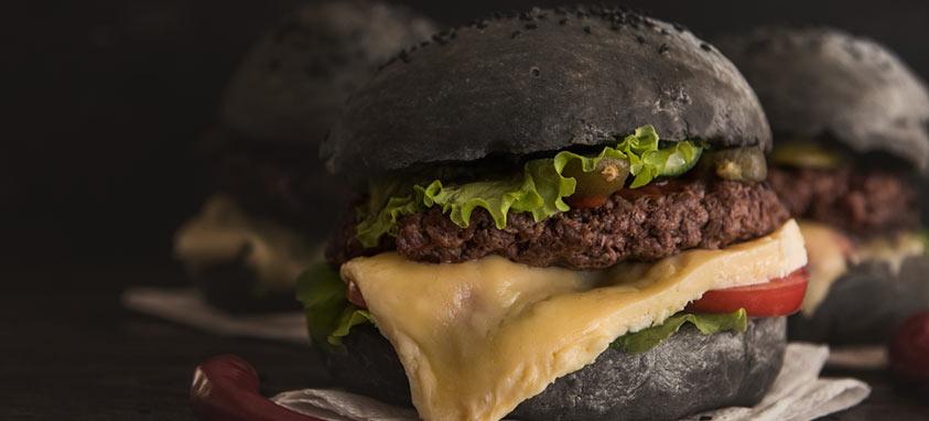 charcoal-burger-bun